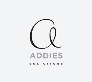 Bespoke website and logo design - Addies Solicitors