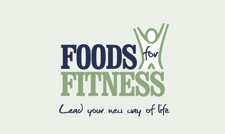 Business branding design by Stripey Media for Foods For Fitness
