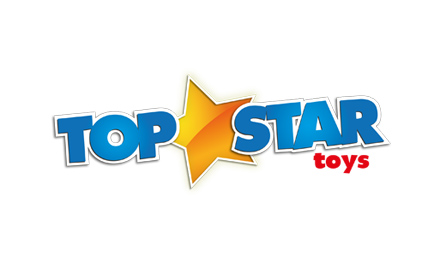 Lancashire logo design by Stripey Media for Top Star Toys
