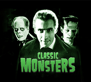 Website design - Classic Monsters