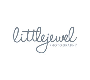 High end website design and logo design - Little Jewel Photography