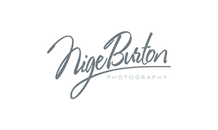 Lancashire logo design by Stripey Media for Nige Burton Photography